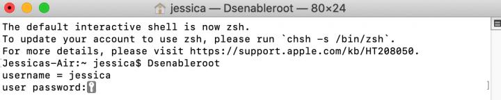 cach bat root user tren macos 1
