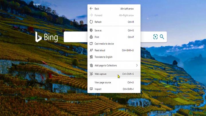 Cách sử dụng Web Capture trong Microsoft Edge trên Windows 10