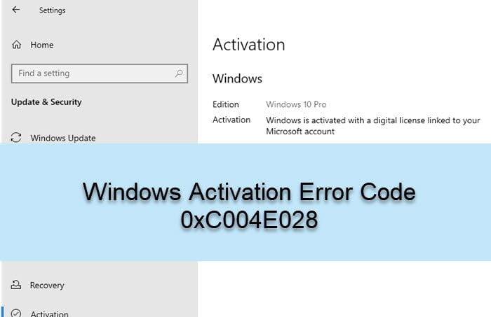 Hướng dẫn cách sửa lỗi kích hoạt Windows báo lỗi 0xC004E028