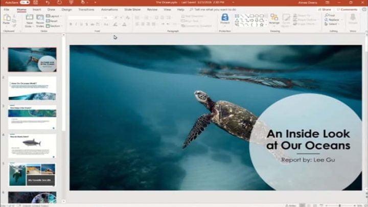 Cách thêm chú thích vào ảnh trong PowerPoint