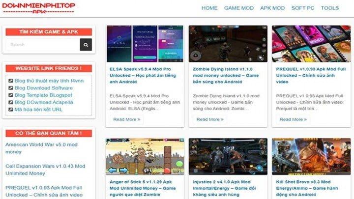 chia se theme wordpress lam trang chia se game mobile 2