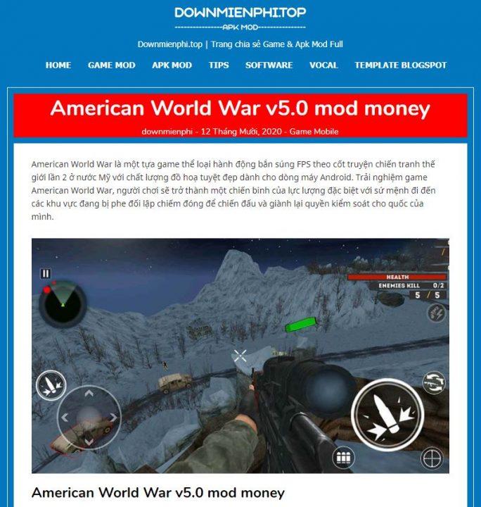 chia se theme wordpress wap game hoac doc truyen 1