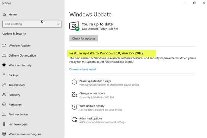 Bản cập nhật Windows 10 phiên bản 20H2 có gì mới