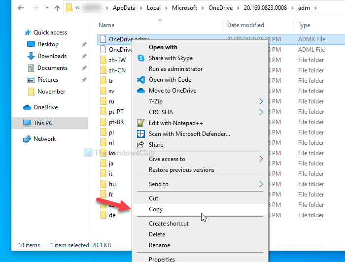 dong bo onedrive trong group policy 1