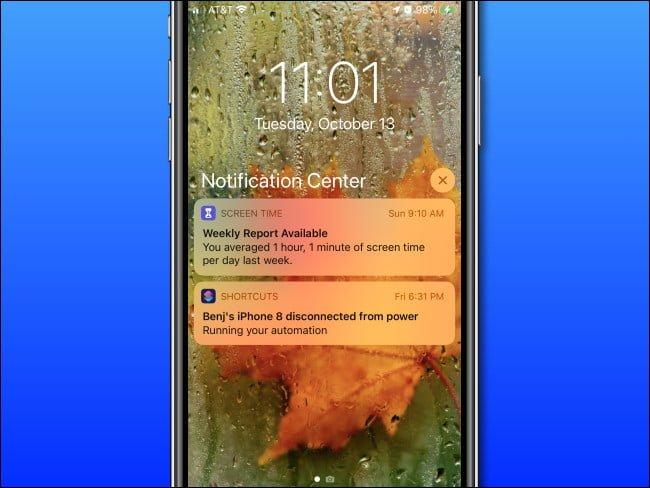 xem trung tam thong bao cho iphone ipad 1