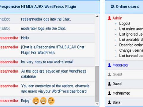 tao chat room cho wordpress