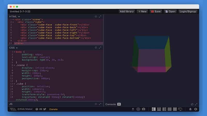 Tiện ích viết và thử nghiệm code trên trình duyệt Chrome