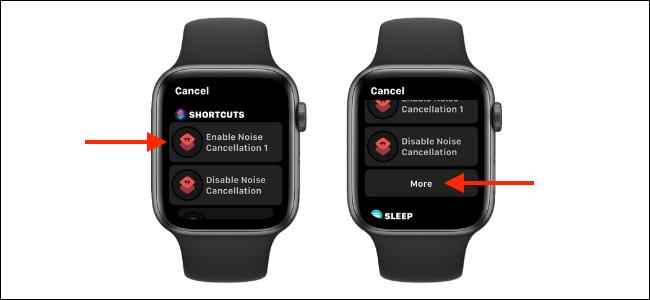 tao phim tat tren Apple Watch Face 3