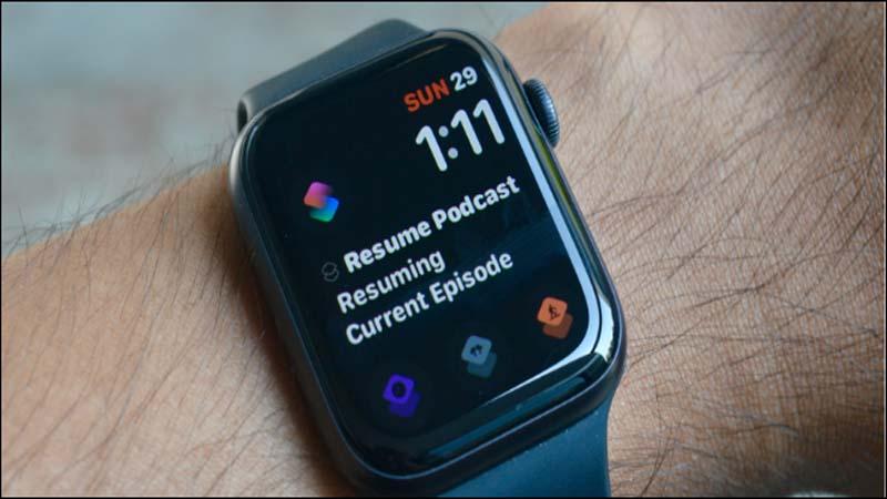 Hướng dẫn cách tạo phím tắt trên Apple Watch Face