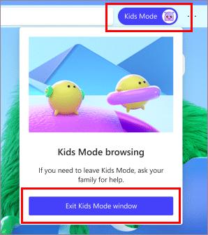 bat che do kids mod tren microsoft edge 3