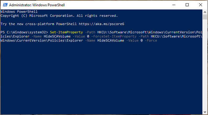 chinh sua registry bang powershell 2