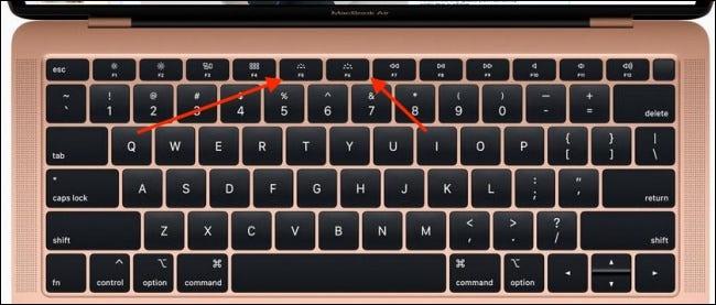 dieu chinh do sang ban phim MacBook Air 1
