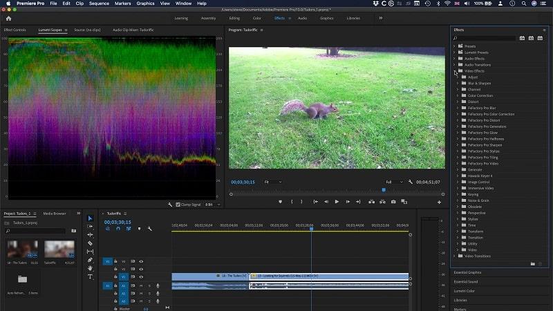 Đồng bộ hóa âm thanh và video trong Premiere Pro