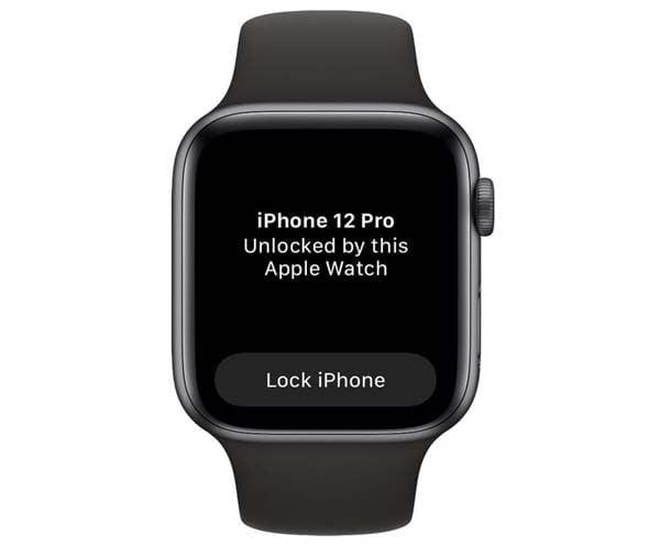 mo khoa iphone bang apple watch khi deo khau trang 3