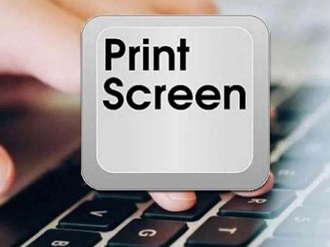 windows 10 bi treo khi bam print screen
