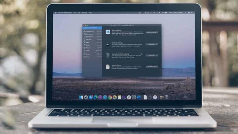 Giải phóng dung lượng dung lượng ổ cứng cho Mac với Optimize Mac Storage