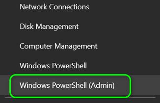 Open Windows PowerShell Admin 3