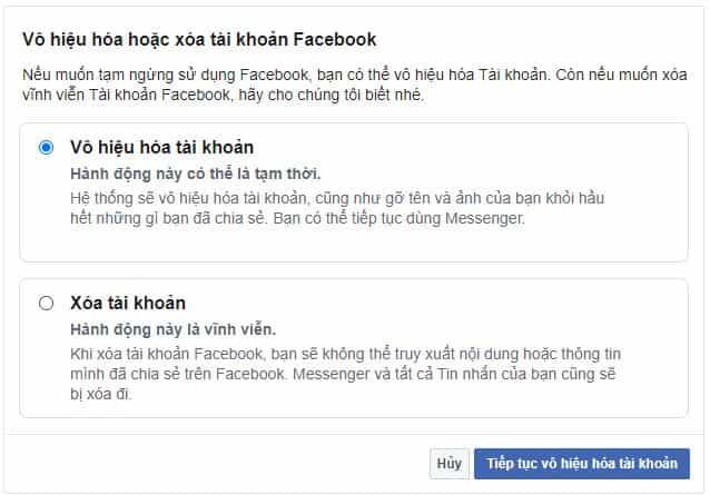 su dung facebook messenger khong can tai khoan facebook 2