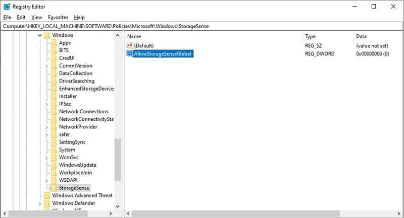 Cach Tat Tinh Nang Storage Sense Trong Windows 10 1