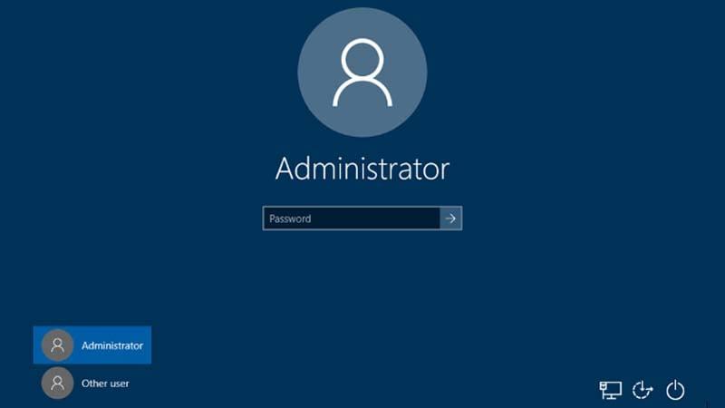 Sửa lỗi tùy chọn Switch User bị ẩn khỏi màn hình đăng nhập Windows 10