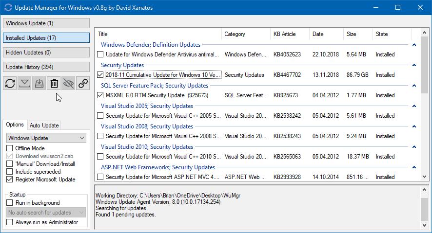 Hướng dẫn cách quản lý cập nhật Windows 10 bằng WuMgr