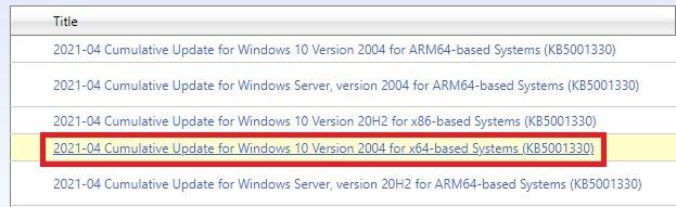 microsoft update catalog 3
