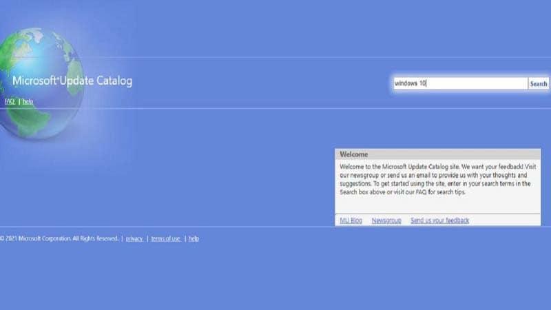 Microsoft Update Catalog là gì và cách sử dụng nó như thế nào