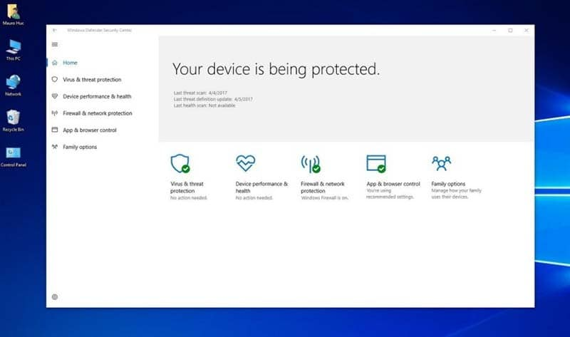 sua loi 0x800700aa windows defender tren windows 10 2