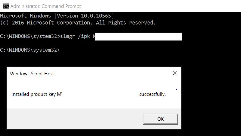 sua loi Error 0xc004f069 khi kich hoat windows server 1