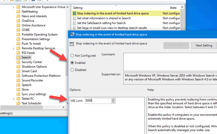 cach dung Windows Search Indexing 1