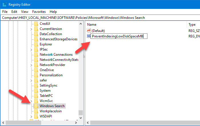 cach dung Windows Search Indexing 2
