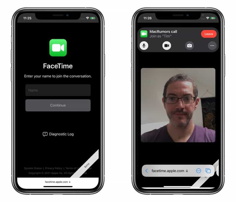 cach goi facetime voi nguoi dung android tren ios 15 2