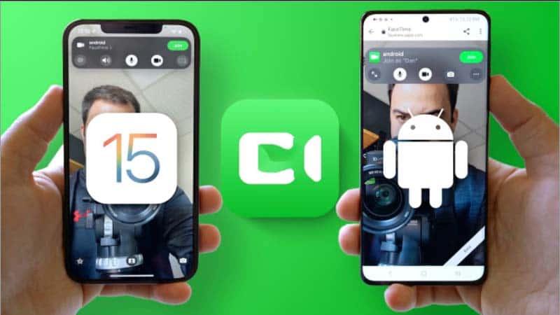 Hướng dẫn cách gọi Facetime với người dùng Android trên IOS 15