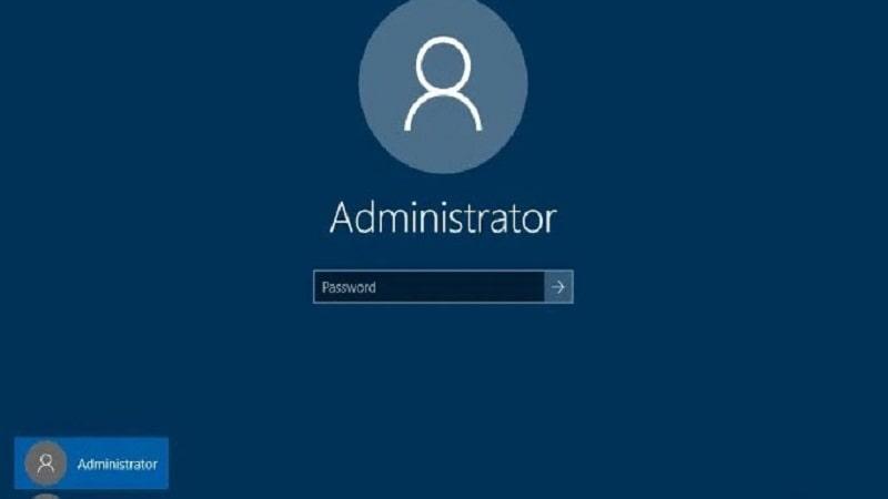 Hướng dẫn sửa lỗi tài khoản admin bị vô hiệu hóa trên Windows 10