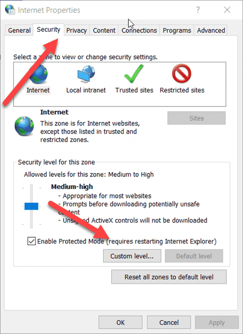tat canh bao bao mat khi mo file tren windows 10 1