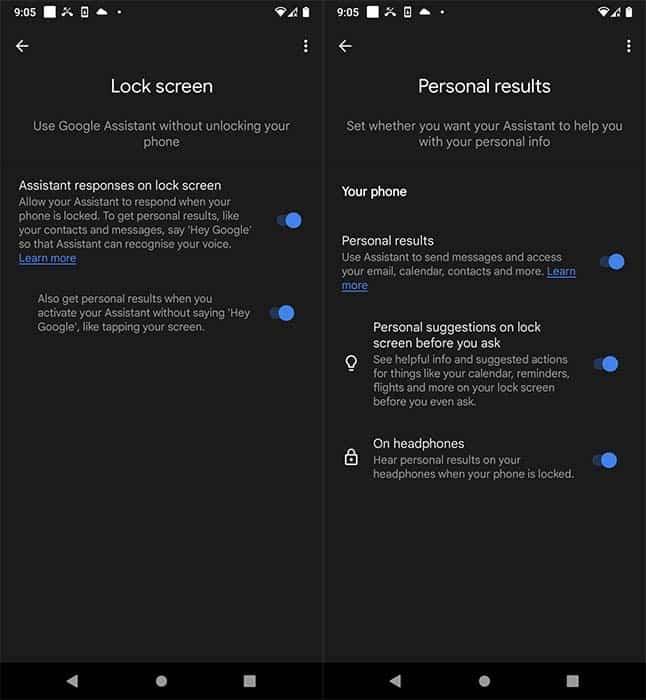 cach truy cap Google Assistant khi dien thoai bi khoa 1