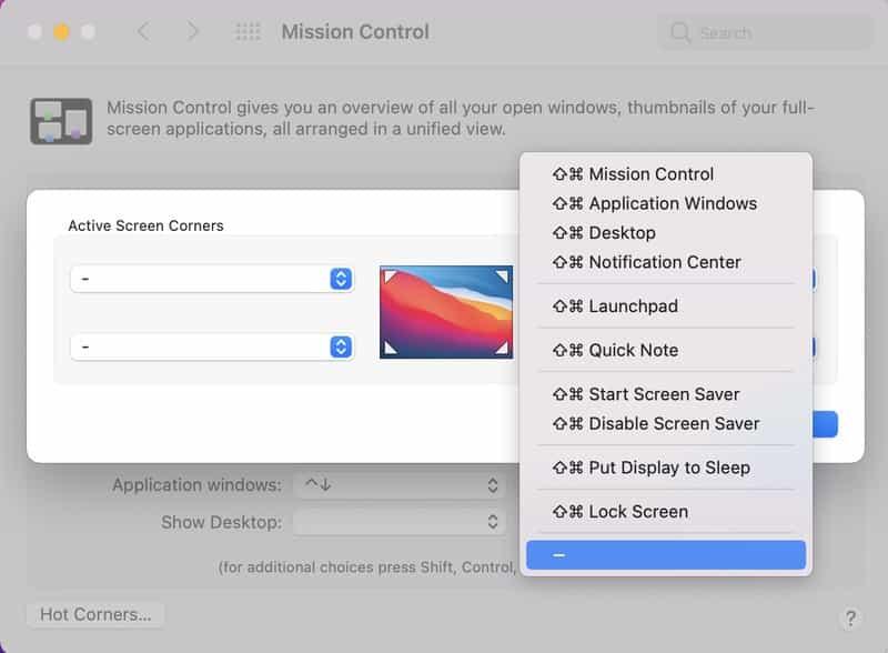 Cach Tat Quick Note Tren macOS Monterey 2