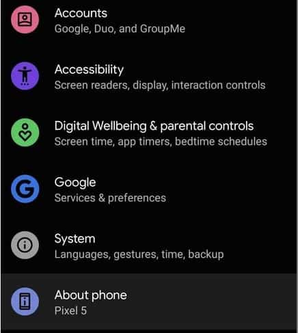 cach cai dat Android 12 Public Beta 3