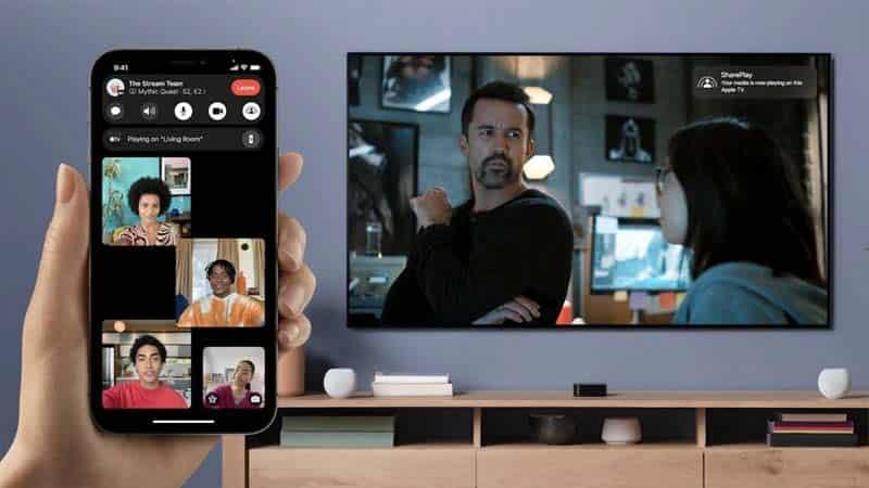 Hướng dẫn cách chia sẻ màn hình khi gọi FaceTime trên IOS 15