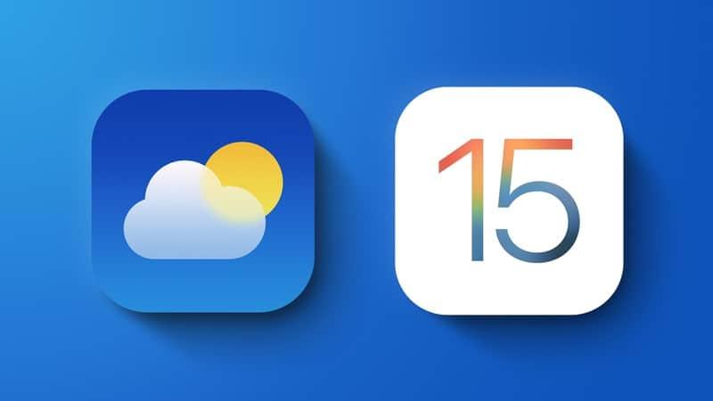 Hướng dẫn cách bật thông báo thời tiết trên iPhone trên IOS 15