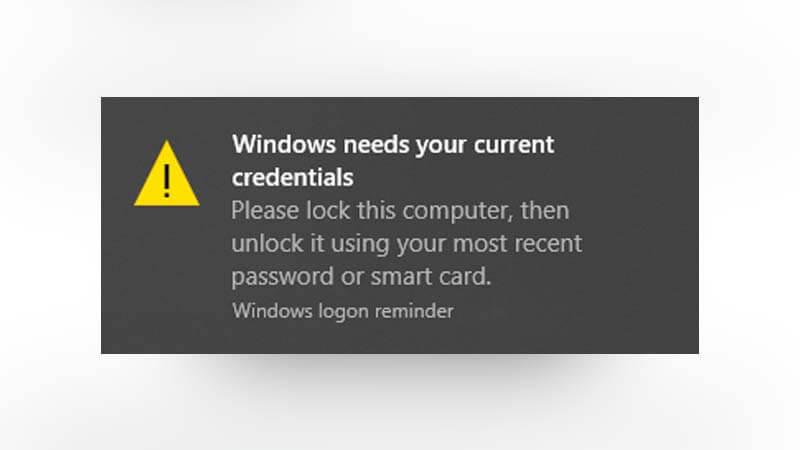Hướng dẫn 4 cách sửa lỗi Windows Needs Your Current Credentials trên Windows