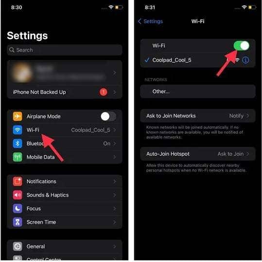 sua loi iOS 15 bi ket o Update Requested 1