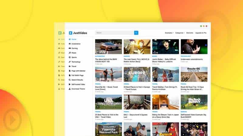 Giới thiệu 4 giao diện wordpress chia sẻ video miễn phí cực đẹp